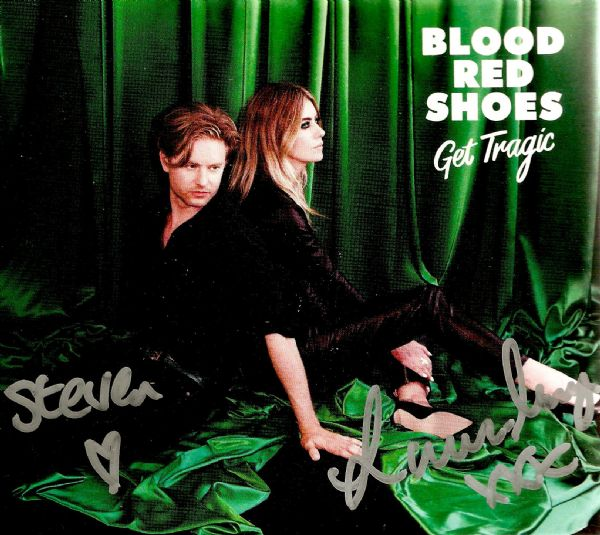 BLOOD RED SHOES Get Tragic CD Album Jazz Life 2019 Signed